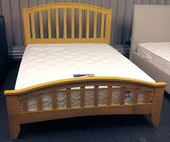 4ft Wooden Bed Frame Knightsbridge Maple Solid Wooden Bed Frame 4ft Small