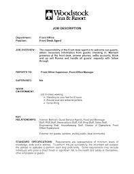 Medical Receptionist Resume Cover Letter Cv Example Hotel Job
