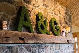 moss covered letters diy moss covered letters wedding wednesday at cloverhill
