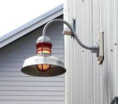 Galvanized Outdoor Light Fixtures Galvanized Outdoor Lighting Brilliant South 10 1 4 High
