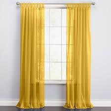 Sheer Curtains Tab Top Brylanehome皰 Studio Voile Tab Top Curtain Sheer Curtains