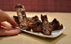 cuisine chinoise porc recette de travers de porc laqués à la chinoise 烤排骨