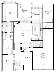 Texas Floor Plans by New Home Plan 245 In Argyle Tx 76226