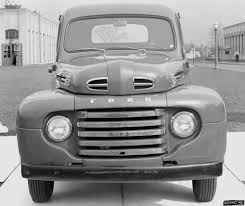 Old Ford Truck Drawing - 1948 ford f 1 pickup