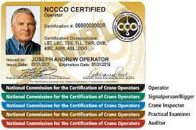 color coded cco certification cards