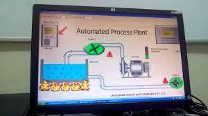 scada monitoring of fluid in process plant youtube