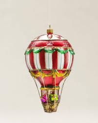 air balloon blown glass ornament ornaments