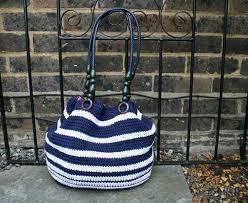 nautical bag crochet pattern crochet purse pattern crochet nautical bag