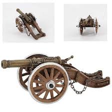 vintage mini cannon lighter gift collectible desk ornaments