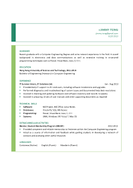 Sample Resume Picture by Computer Engineering Graduate Cv Ctgoodjobs Powered By Career Times