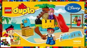 lego instructions duplo jake 10604 jake and the never land