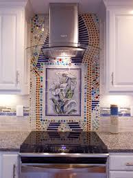 custom kitchen backsplash custom kitchen backsplash murals painted tiles in kansas