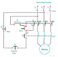 square d magnetic starter wiring diagram and size of wiring