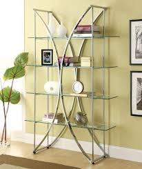 Bookshelf Glass Doors Bookcase Metal Glass Bookcase Photos Black Metal And Glass