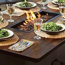 Gas Fire Pit Table And Chairs Fire Pit Dining Table U2013 Mitventures Co