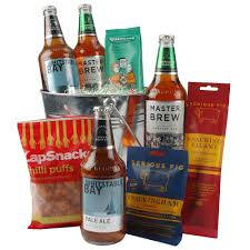 Beer Gift Basket Bucket Of Beer Gift Gift Basket Hamper Hampers By Post