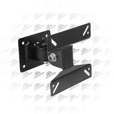 Tv Wall Mount Hardware Black Articulating Adjustable Swivel Tilt Led Lcd Tv Wall Mount