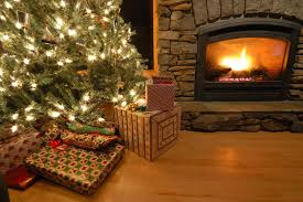christmas fireplace gif images loop video design and ideas
