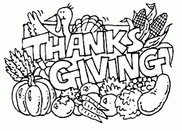 thanksgiving day coloring page coloring pages for free 2015
