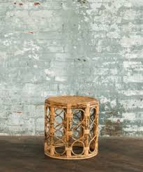 table rentals in philadelphia ludlow wicker side table wicker rattan boho bohemian wedding and