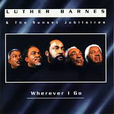 leaning on jesus luther barnes u0026 the sunset jubilaires shazam