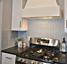 blue herringbone tile kitchen backsplash lou lou girls