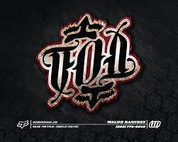 fox motocross logo fox head self promo by waldo ramirez at coroflot com