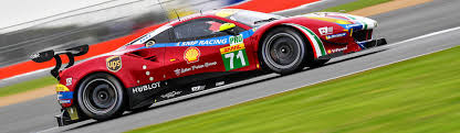 first ferrari race car wec first and third row for the ferrari 488 gtes at silverstone
