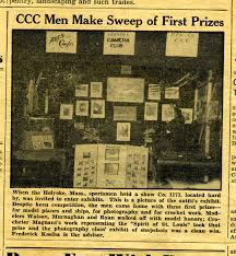 happy days first thanksgiving civilian conservation corps resource page