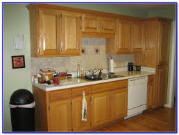 kitchen paint colors with oak cabinets painting home design