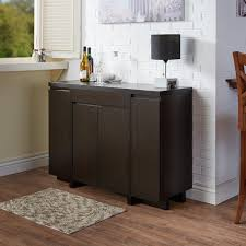 furniture of america holland red cocoa buffet cabinet free