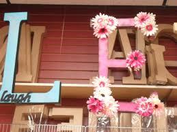 ready to finish giant letter decorations porter u0027s craft u0026 frame