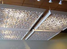 diy fluorescent light covers hide florescent lights in your home or office with these lattice