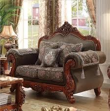 Luxury Wooden Sofa Set Webetop Modern Design Luxury Sofa Set Hand Craft Oak Wood Home