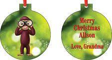 curious george ornaments ebay