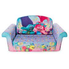 tinkerbell flip open sofa marshmallow furniture children s 2 in 1 flip open foam sofa