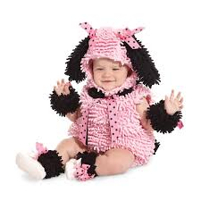 Infant Girls Halloween Costumes Pink Poodle Costume Infant Toddler Poodle Costume