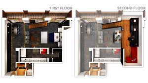 W Verbier Luxury Ski Resort Floor Plan 3d Suite