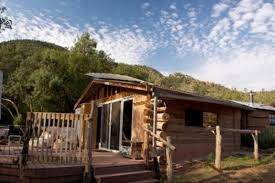 luxury log cabins near albuquerque