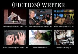 Author Meme - what people think writers do writer writing humor and speed writing