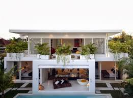 contemporary style house plans of architecture contemporary style house in bali by