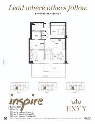 Residences Evelyn Floor Plan by Inspire Scottsdale Az 85251 487 900 Redfin
