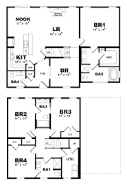 charlotte modular home floor plan