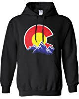 amazon com colorado state flag sweatshirt hoodie clothing