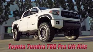 toyota tundra lifted toyota tundra trd pro lift solutions from readylift youtube