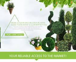 Fake Bushes Yiwu Lishi Imp U0026 Exp Co Ltd Garden Home Decoration Jewelry