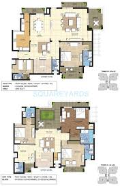 Penthouse Floor Plan by 4 Bhk 4900 Sq Ft Penthouse For Sale In Indiabulls Centrum Park