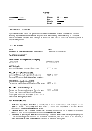 Best Resume Format For Managers by Resume For Freshers 20 Best Resume Format For Freshers Engineers