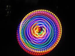 helix led hoop 36 24 led hula hoop hdpe the fusion toys