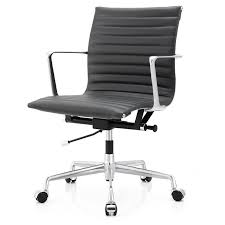 Leather Office Chair Meelano Aniline Leather Office Chair Reviews Wayfair